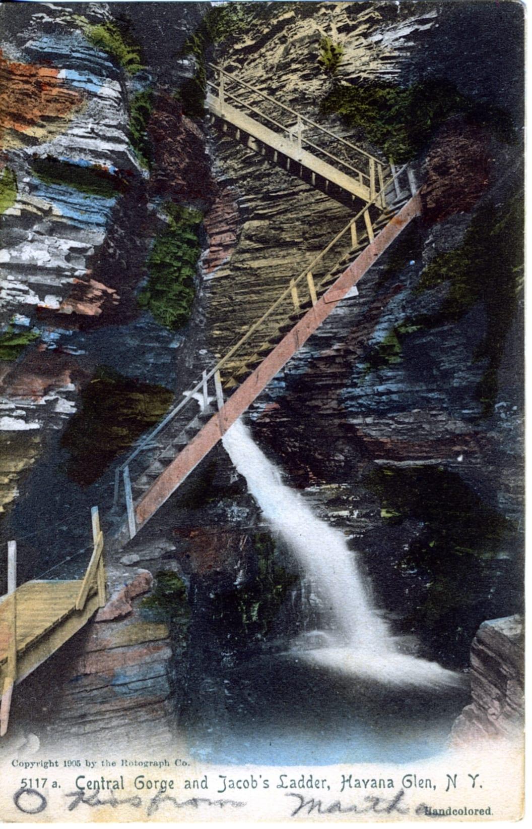 Central Gorge and Jacob's Ladder, Havana Glen