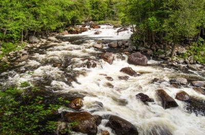 Sawmill Site Falls