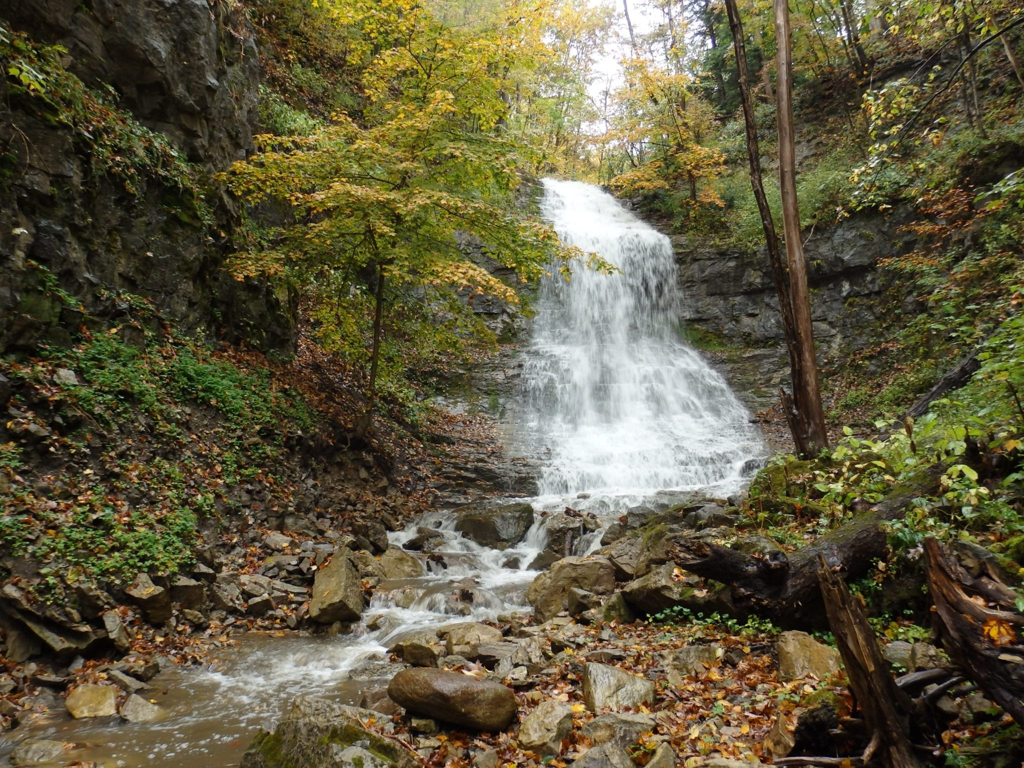 Buttermilk Falls - Little Falls, Herkimer County, New York