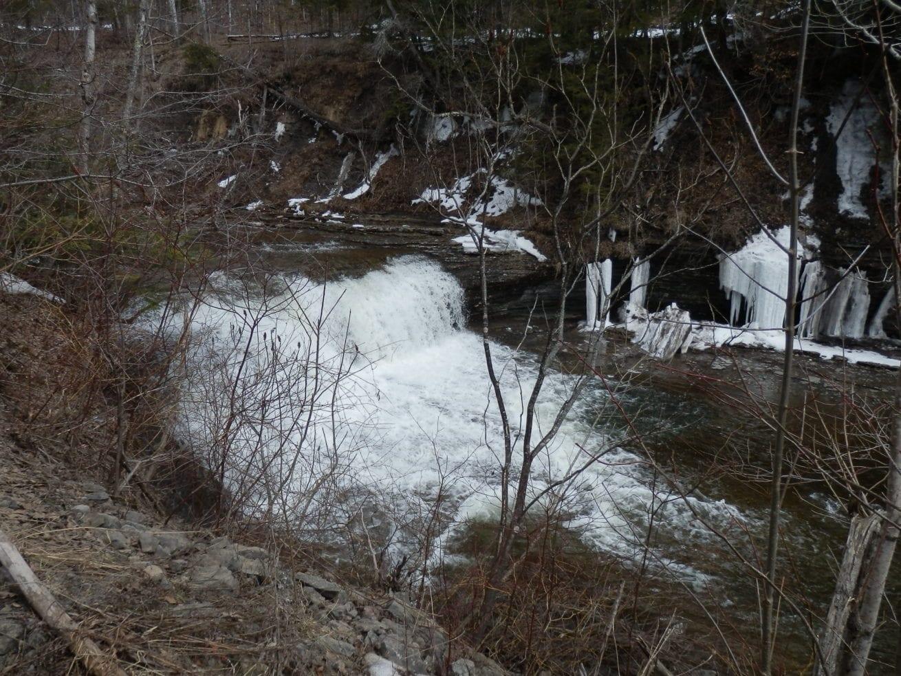Cincinnati Creek, Deadmans Curve Falls, Mud Creek, Oneida County, New York