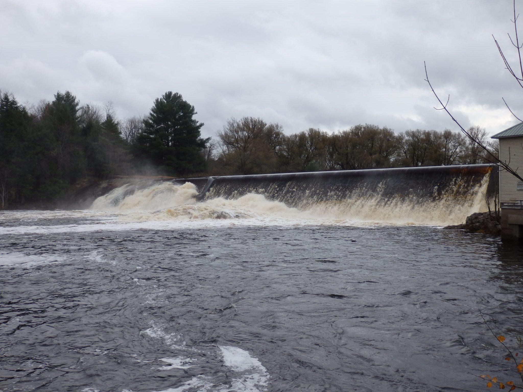 High Falls Dam and Falls, Beaver River – Croghan