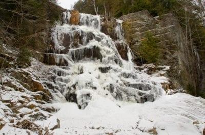 Beaver Meadow Falls Winter