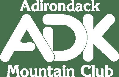 Adirondack Mountain Club LOGO White