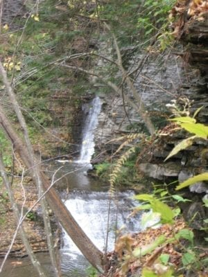 Deckertown Middle Falls, Schuyler County, New York 10-19-2010