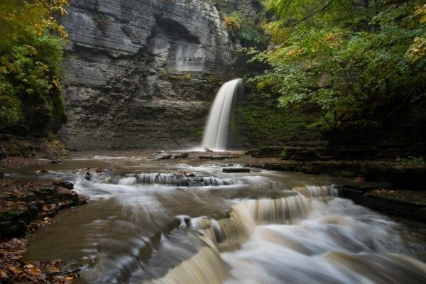 Eagle Cliff Falls Finger Lakes Wateralls