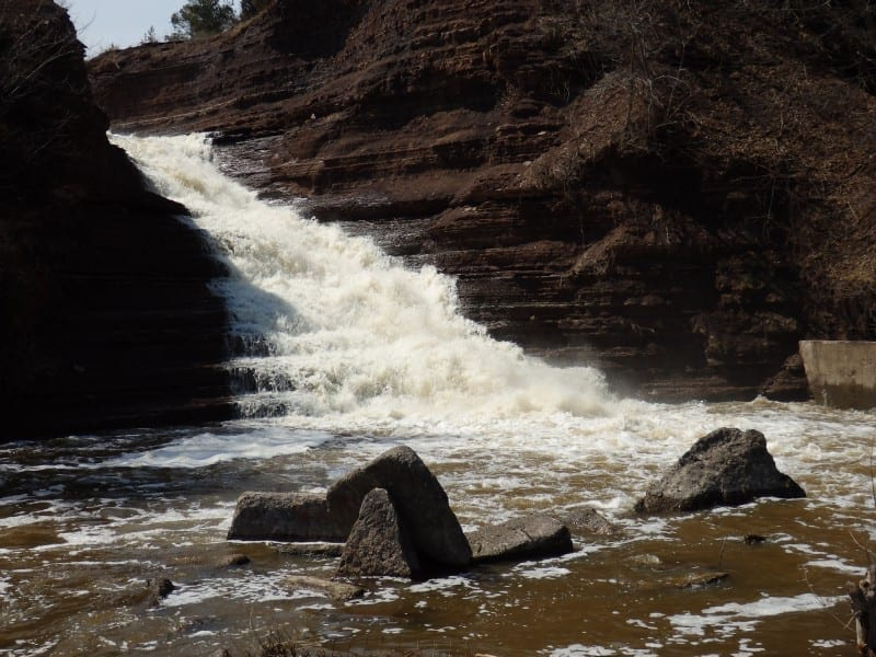 Lewis County Part 3- Lewis County and the waterfalls on Fish Creek and the Deer River