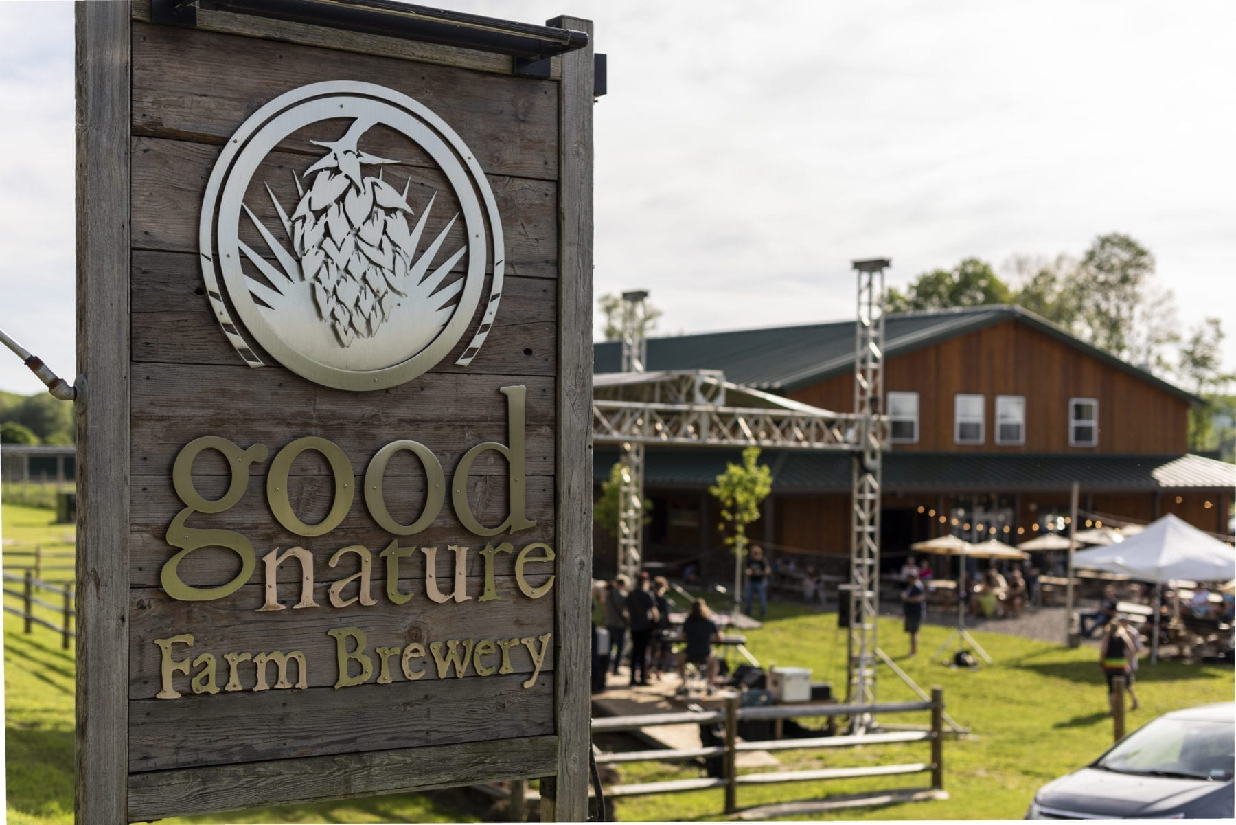 Good Nature Brewing sign