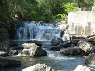 Cascade Mill Falls, Keuka Outlet Park, Yates County, New York 8-10-2013