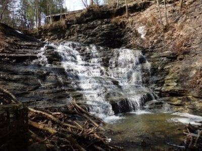 Emery Falls, Erie County, New York 4-13-2014