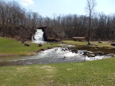 Holley Canal Falls, Orleans County, New York 4-12-2014