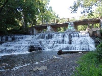 Paper Mill Falls, Livingston County, New York 8-12-2013