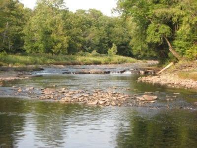 """Pinti Field """"On the Mohawk River"""", Oneida County Ny"""