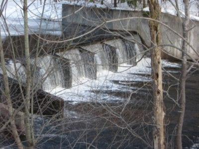 Salmon River, Lower Dam, Oswego County, New York 2008