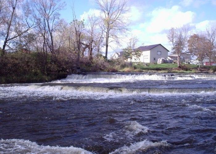 Sandy Creek Lower Falls, Jefferson County, New York 2007
