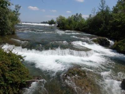 Falls on Three Sisters Island, Niagara Falls, New York 7-6-2016