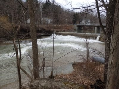 West Falls and Dam, Erie County, New York 4-13-2014