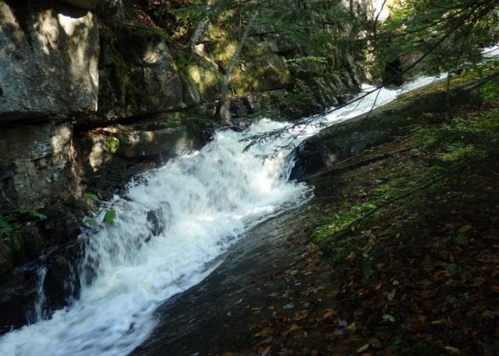 Eagle Section Lower, Beaver River falls on, Lewis County New York 1-9-20-2015