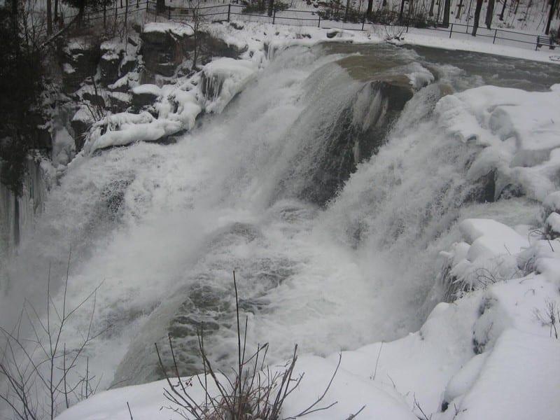 Chittenango Falls, Madison County, Ny 2-17-2018